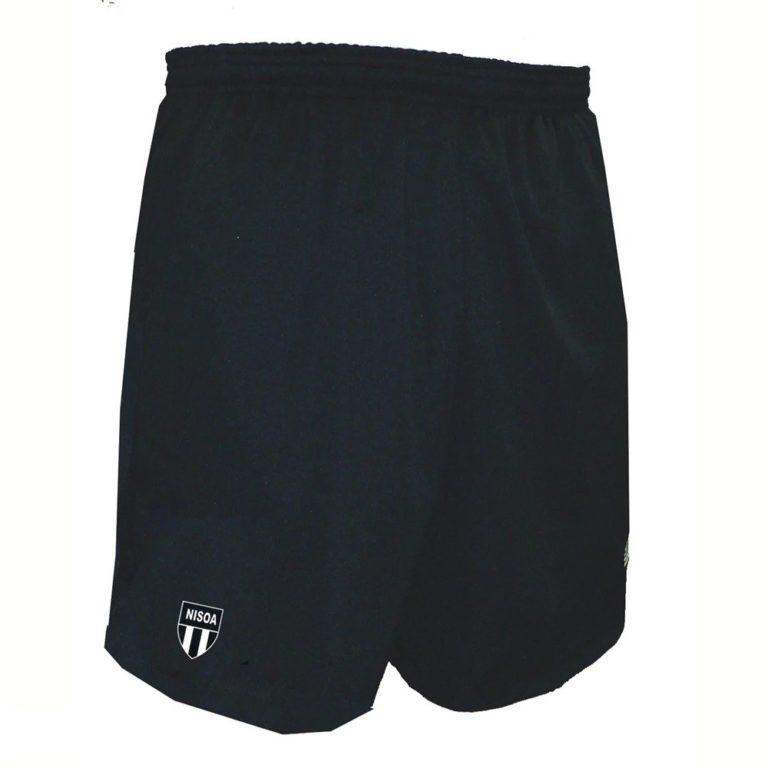 gym shorts black